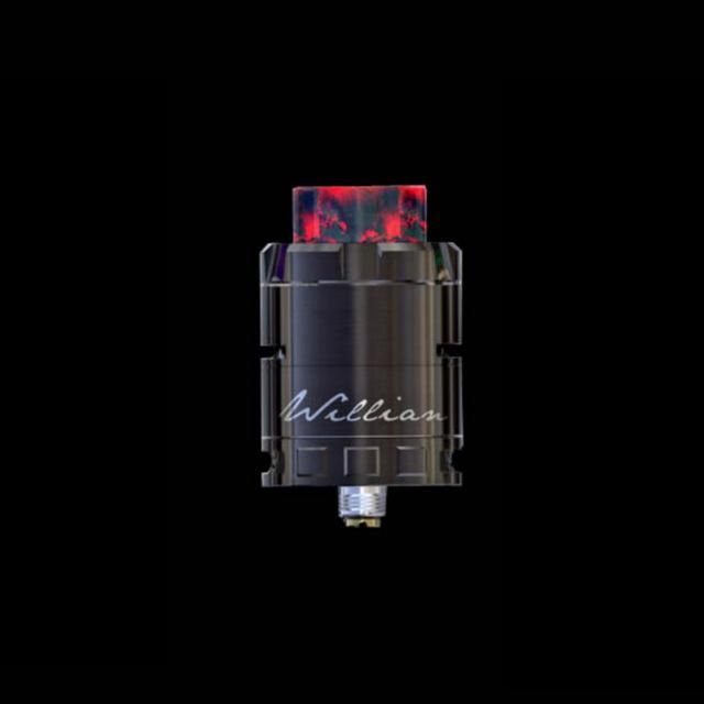 Original iJOY CIGPET ECO RDA Atomizer E-cig Rebuildable Atomizer 510 Thread Big Airflow RESIN DRIP TIP ECO Atomizer Dense Vapor