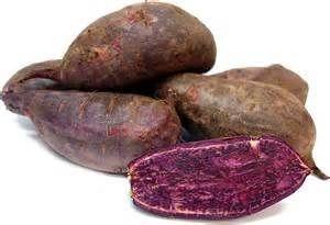 Zoete aardappel / Paars vruchtvlees / Paarse bataat / USA / Teelt: regulier / 1kilo