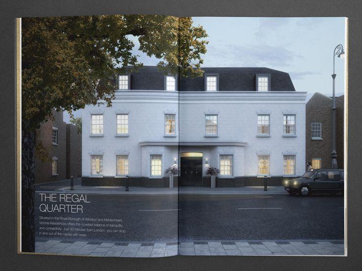 Best Property Brochures Images On   Brochure Design