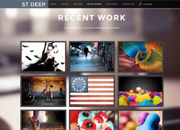 ST DEEP is an amazing One-Page HTML5 & CSS3 template with a minimalist, simple, elegant and clean style.  Offering responsive design, it is easily usable with any mobile device like tablet or mobile phone, without removing any content.  Code is easy to modify and understand so you can personalize it in the easiest way.  Otherwise, this template is fully support for K2 and Kunena Forum and compatibility with 3.x.