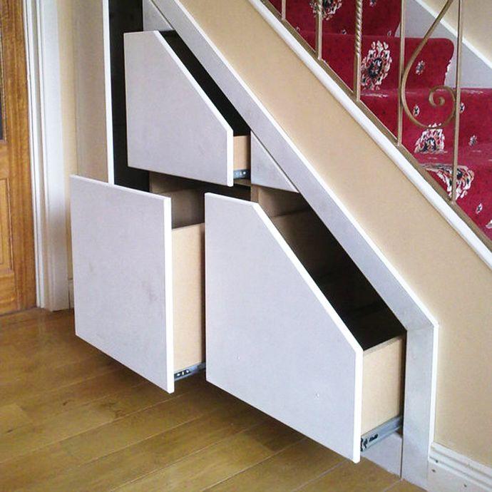 Best 25+ Staircase Storage Ideas On Pinterest