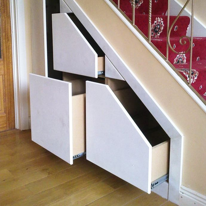 Over 30 Clever Under-Staircase Storage Space Ideas and Solutions