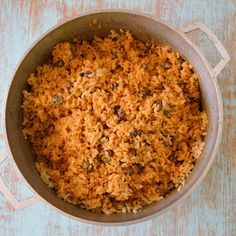 Puerto Rican Rice & Beans | Kitchen Gidget