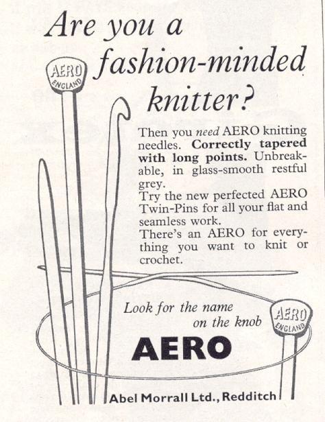 Fashion Knitting with Aero Knitting Needles
