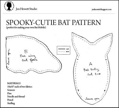 The  Best Bat Pattern Ideas On   Diy Halloween