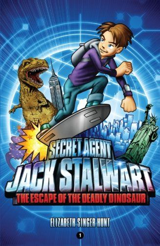 13 best beginning chapter books after magic tree house images on secret agent jack stalwart book 1 the escape of the deadly dinosaur by elizabeth singer fandeluxe Image collections