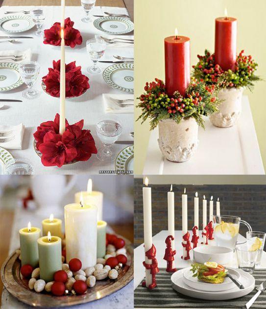Oltre 25 fantastiche idee su centrotavola immagine su - Centrotavola natalizi ...