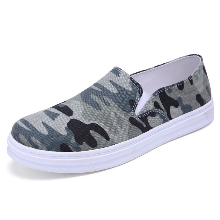 >> Click to Buy << fashion camouflage men's plimsolls canvas shoes slip-on flats loafers lazy shoes trainers crossfit zapatos verano hombre T032814 #Affiliate