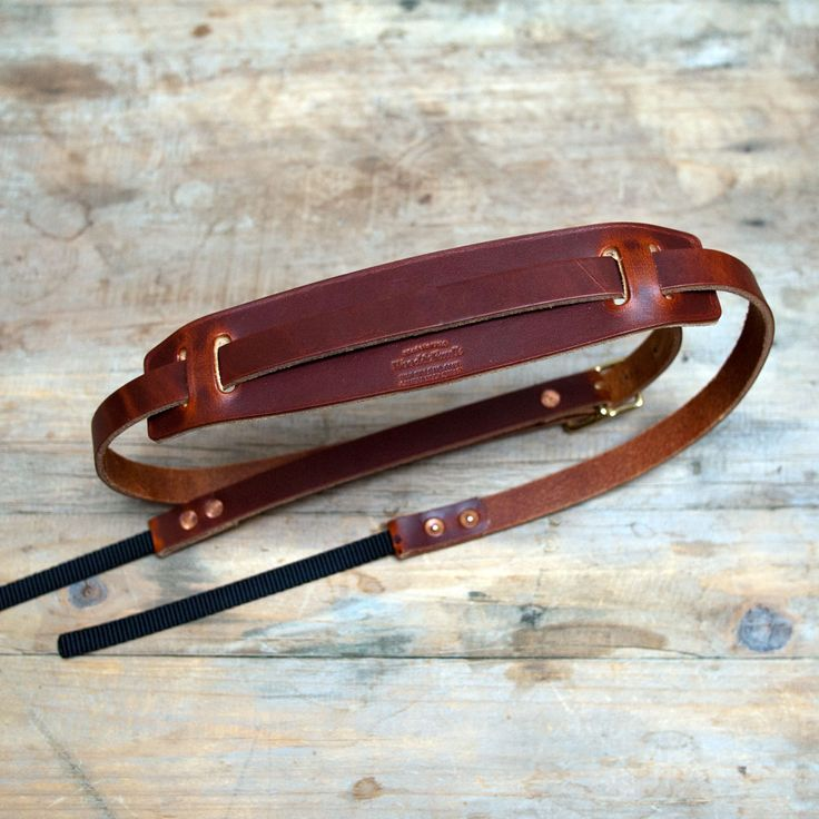 Wood & Faulk Camera Neck Strap