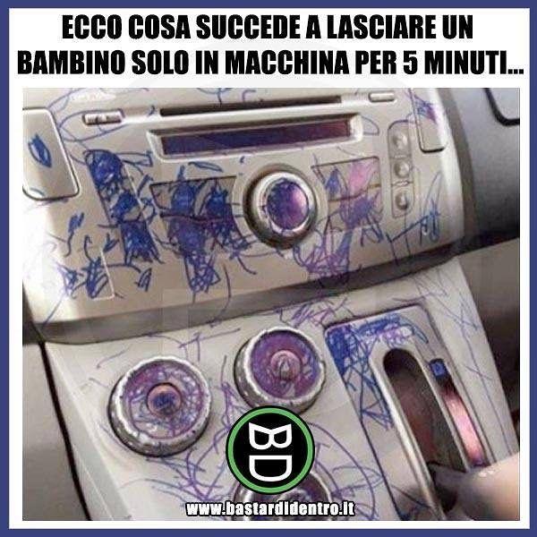 Seguici su youtube/bastardidentro #bastardidentro #pennarello #auto www.bastardidentro.it