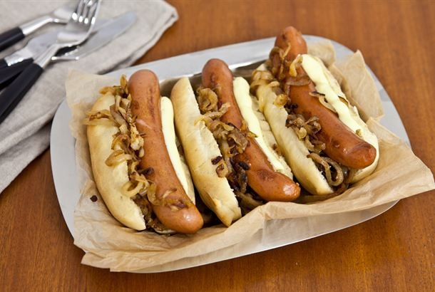 Hot dog sämpylät