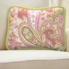 Lime and Pink Paisley Nursery Décor | Carousel Designs