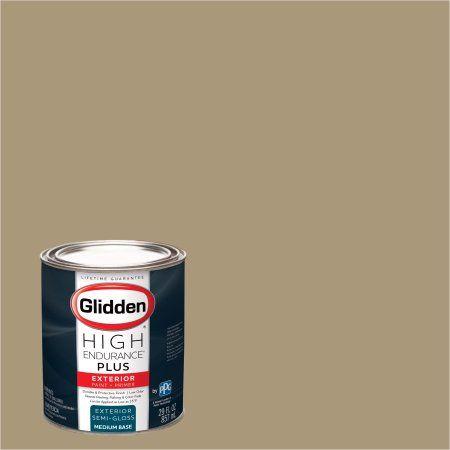 Glidden High Endurance Plus Exterior Paint And Primer Soft Honey Gold 20yy 36 185 Size Quart Products Exterior Paint Interior Paint Paint Primer