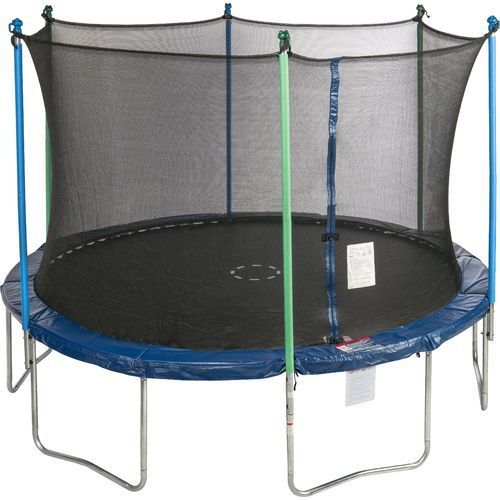 Jump Zone™ 12' Round Trampoline with Enclosure // (Leila) $139 on Black Friday