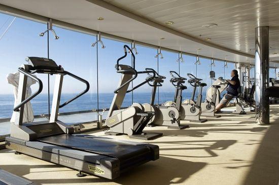 MSC Lirica - MSC Aurea SPA gymnasium