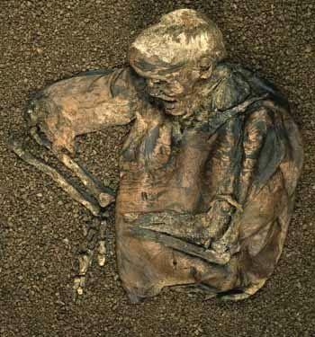 Lindow Man - one of  Europe's  Bog People