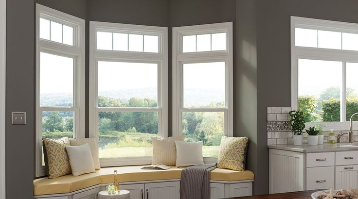 De 25 bedste id er inden for double hung windows p for Double hung vinyl windows