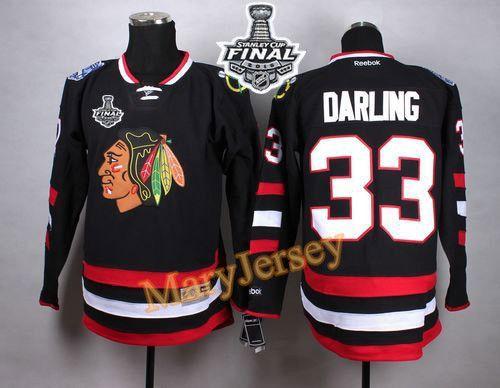 mens chicago blackhawks 29 bryan bickell 2015 stanley cup black jersey