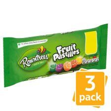 Nestle Rowntrees Fruit Pastilles 3 Pack 157.5G