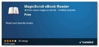 Visualiza libros de ePub desde Chrome con MagicScroll eBook ... - Lukor