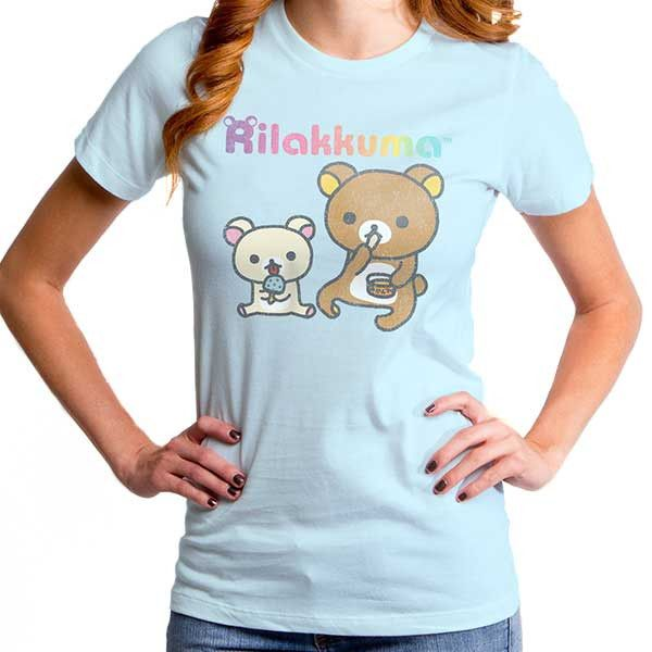 Women's Snack Time Rilakkuma T-Shirt