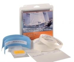 "The PROtect Laser Kit contains a Mast Disk made from 1mm thick Teflon to prevent wear in your mast step. It also contains a selection of Chafe tapes for snug fit of top & bottom mast sections, deck abrasion from tiller, outhaul & centre board.  What this all provides is the ability to keep your Laser in ""as new"" condition forever, keeping its re-sell value  & also providing better performance of mast sections, outhaul & the centreboard. Go on, give your boat a treat!  http://goo.gl/dDNSAQ"