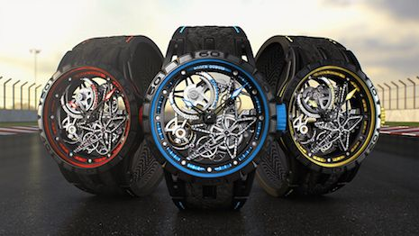 Luxury Daily Roger Dubuis targets Chinese customers with motorsport-themed WeChat campaign Swiss watchmaker Roger Dubuis and Italian tire manufacturer and motorsport sponsor Pirelli are launching a new campaign through Chinas popular ecommerce and social media hybrid WeChat.