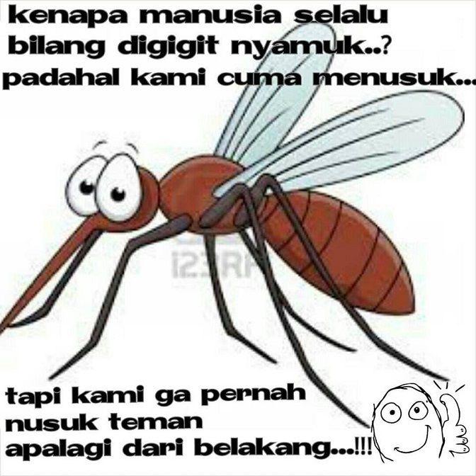 Nyamuk ga pernah menusuk teman dari belakang - #Meme - http://wp.me/p3MK7L-bDd