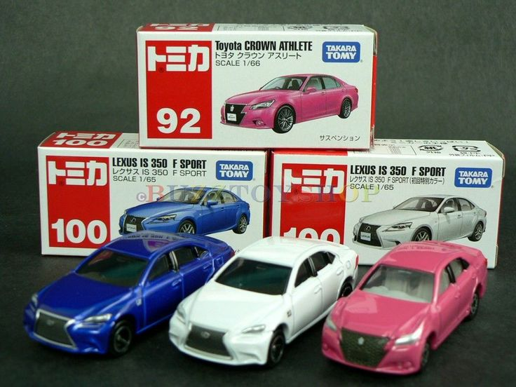 2014 TAKARA TOMY TOMICA METAL DIECAST CAR LEXUS IS 350 F SPORT CROWN ATHLETE