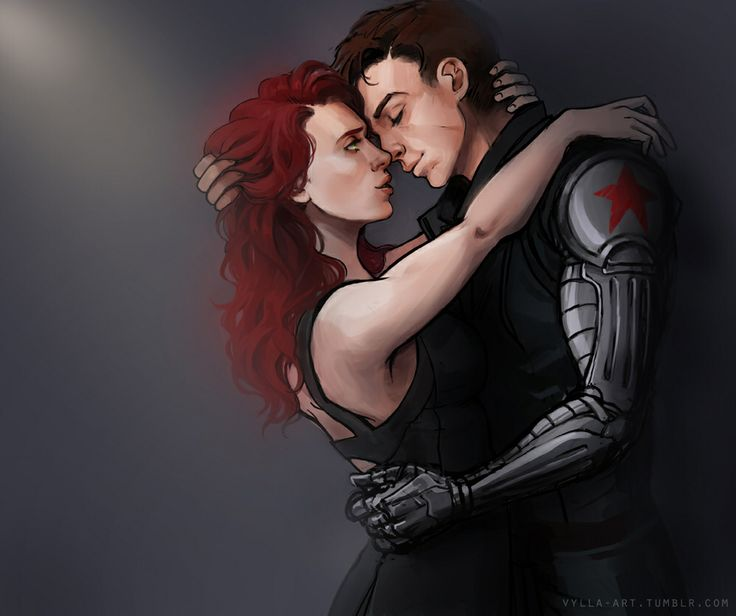WinterWidow, my fav marvel couple! The black widow and the winter soldier!!!!!:)