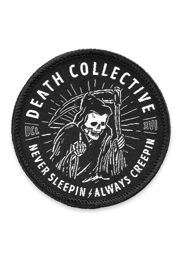 Death Clothing Reaper Patch                                                                                                                                                                                 More