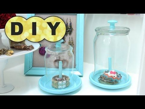 """The cloches from Pottery Barn are WICKED expensive (on PB.com website, the """"Glass Cloche Jewelry Storage"""" retails for $39, or $49 for the elevated cloche). This is a DIY cloche that will cost you a fraction of one PB cloche (spent less than $10 and got TWO cloches). This takes about 3-4 hours to complete... most of that time is waiting for glue ..."""