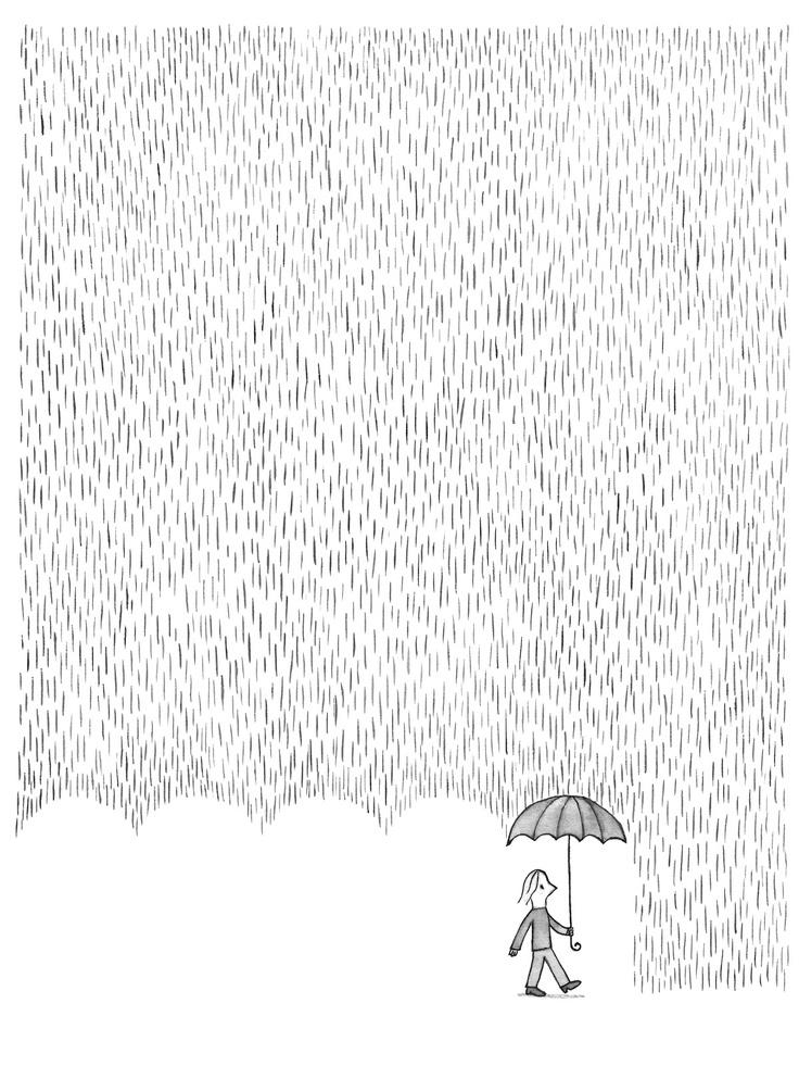 Invisible Umbrellas by Troche