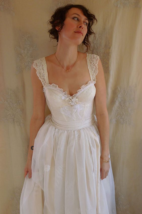 55 best images about garden and beach wedding dresses for How much is a custom wedding dress