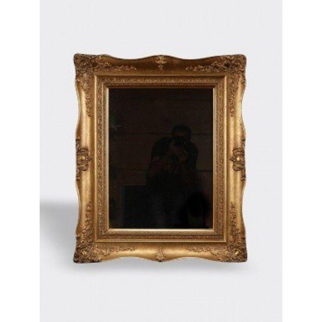 Miroir scandinave vintage gold vendu par skandhaus for Miroir scandinave