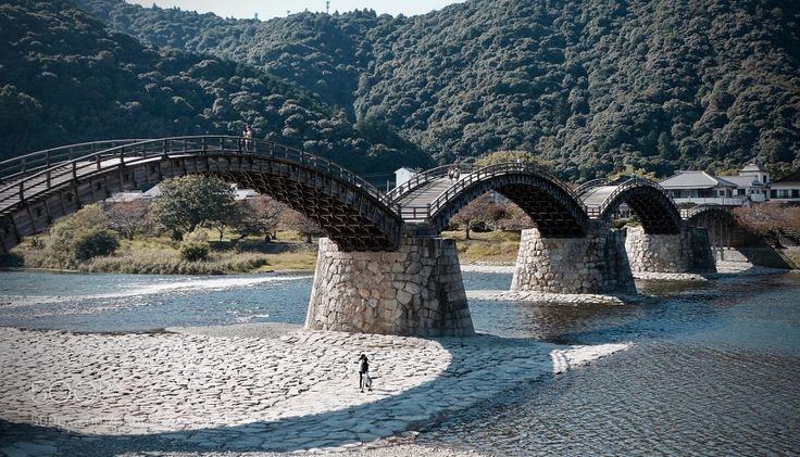 Connecting Communities - Kintai Bridge by eipangan with 錦帯橋BridgeRiverIwakuniYamaguchiKintai-kyo山口県岩国市