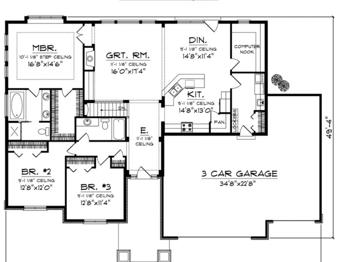 5b01cc87b038bc75c6eb2b8fa449d13f one level house plans house plans and more 129 best house plans small, energy efficient, affordable images on,Energy Efficient Craftsman House Plans