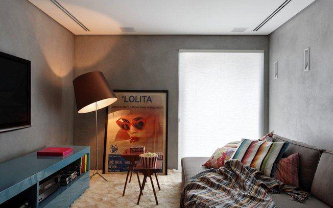 Cimento queimado e objetos coloridos marcam duplex de 245 m² - Mundo Masculino - iG