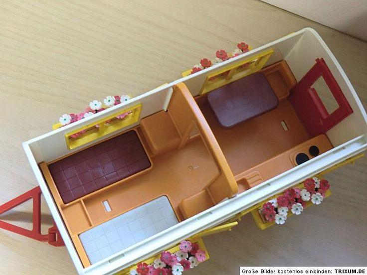 766 Playmobil Zirkus Romani Wohnwagen der Artisten 3728