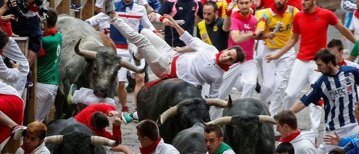 InfoNavWeb                       Informação, Notícias,Videos, Diversão, Games e Tecnologia.  : Corridas de touros deixam 11 feridos na Espanha