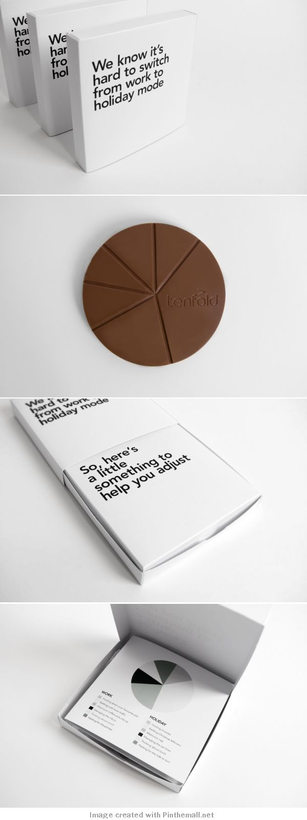 Tenfold Christmas Gift   Creative #gift #packaging #idea of New Zealand agency Tenfold Creative