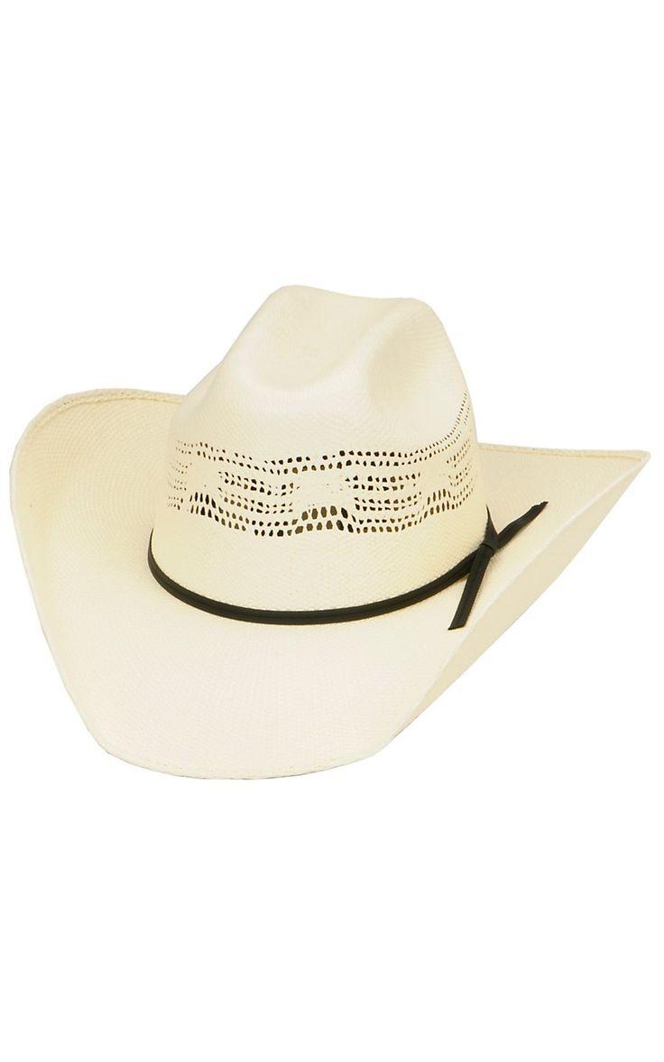 Cavenders® Bangora Straw Children's Cowboy Hat | Cavender's