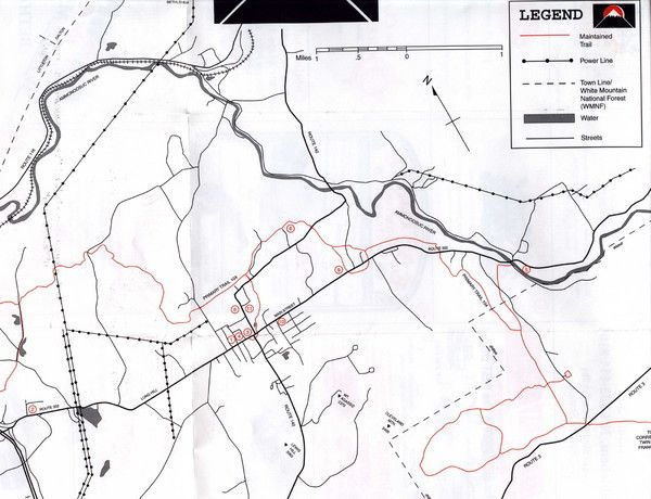 40 White Mountain National Forest Trail Map Ko2y Di 2020
