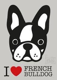 Resultado de imagen para bulldog frances dibujos divertidos