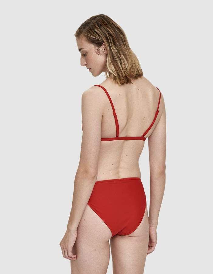 9cb83cd2d2af8 Nu Swim Cyn Swim Top in Poppy SwimNuCyn Swimsuits High