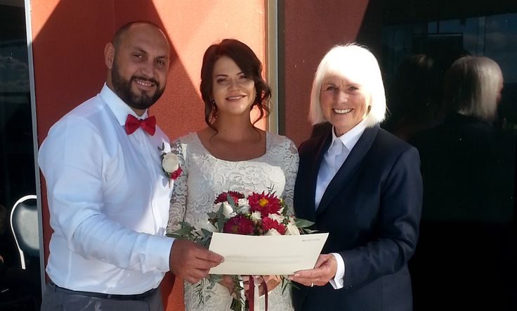Cat and Gav married at Queanbeyan Kangaroo Club NSW in April 2017