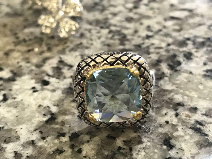CROWN 12 Carat Austrian Crystal Ring