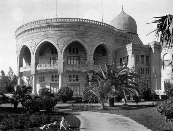 Exterior view of Heliopolis Palace in Cairo | Egypt 1922.