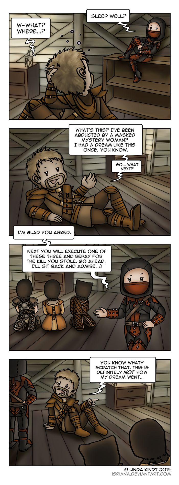 Skyrim: Sweet Dreams Are Made Of... Murder? by Isriana on DeviantArt