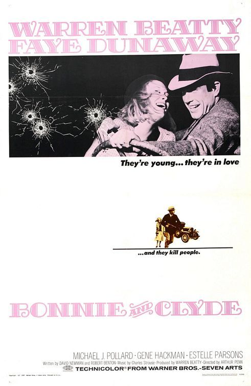 Bonnie and Clyde Movie Poster - Internet Movie Poster Awards Gallery